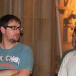 Jordi Arnau y Gustavo Aranda