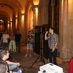 David Jaumandreu dando por finalizado el evento
