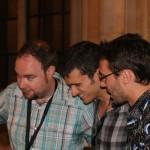 Juan, David y Kevin