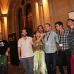 Foto de familia de los organizadores