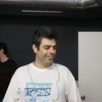 Esteban Gallardo, que nos mostró su faceta de investigador