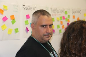 "Rubén Pinadero ""el de la mirada grave"", maestro de la pregunta chunga"