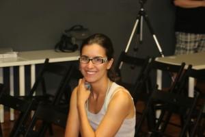 Silvia Quera, estudiante en el Eram de día y Xena la princesa guerrera de noche