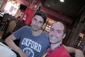 Fran Téllez y Marcos Torrecillas