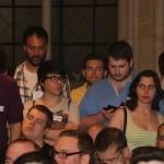 Nervios entre el público