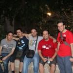 Edu y los amigos de Madrid
