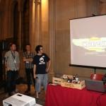 Ramón presenta el premio Insert Coin