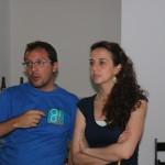 Zoilo y Laia, amigos, ilustradores, y residentes en Barcelona